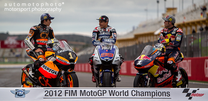 MOTOGP PHOTOGRAPHY - MOTOGP JORGE LORENZO WORLD CHAMPION - ANDREW WHEELER - AUTOMOTOPHOTO