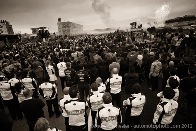 Marco Simoncelli Memorial Rememberance Valencia 2011